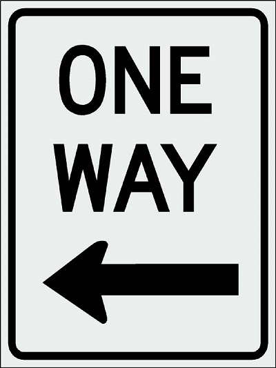 One-Way Only